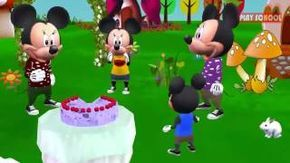 Happy Birthday Song Mickey Mouse Nursery Rhymes For Children
