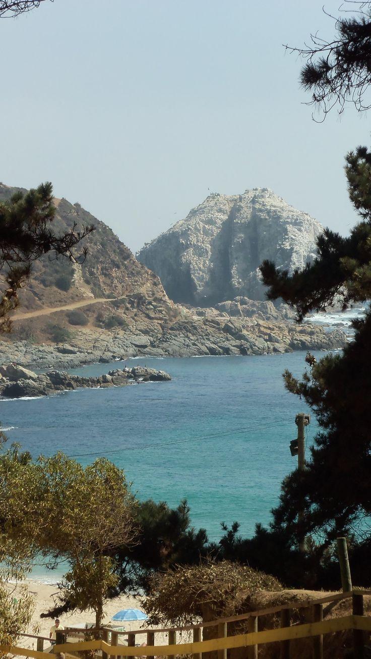 Playa El Canelo, Algarrobo, V Región.