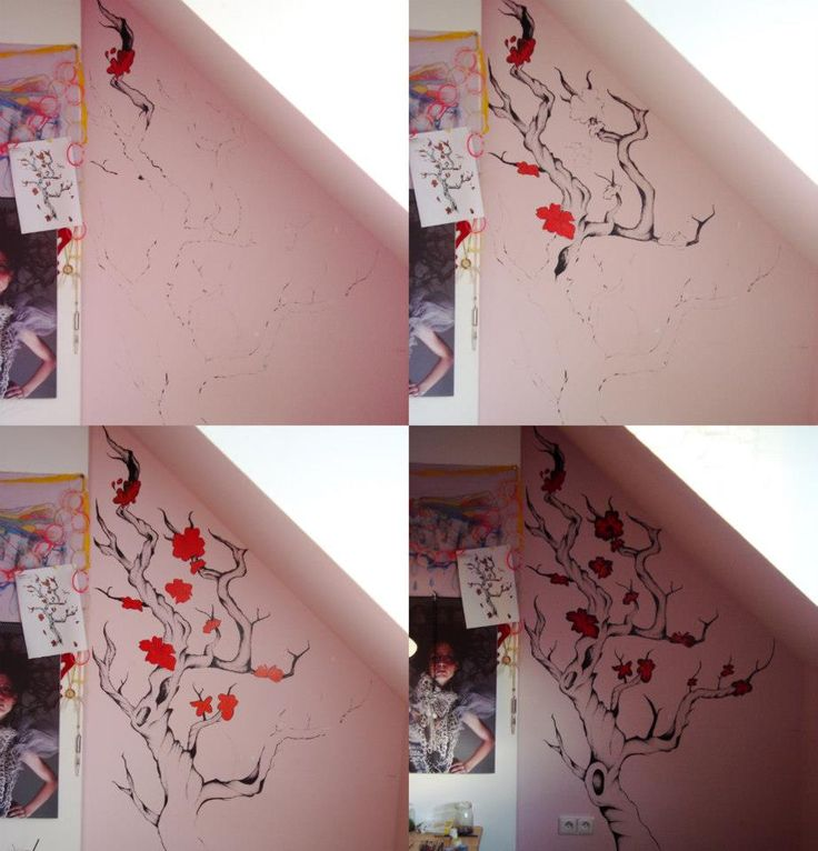 wall in my room