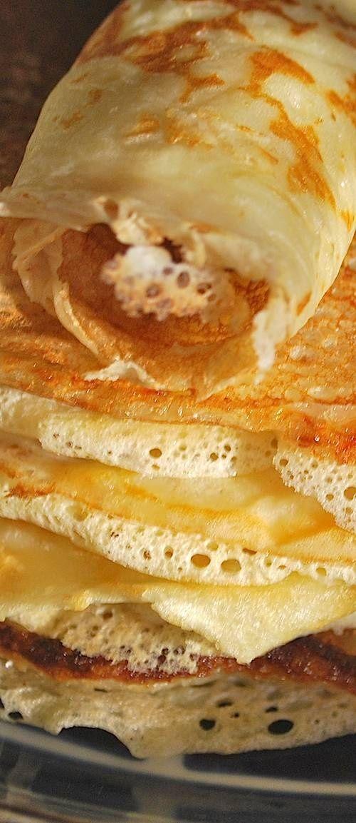 Dutch Pancake Recipe: the real Pannekoeken Breakfast in bed! Happy Father's Day my love!