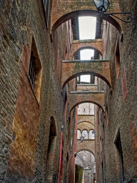 The Bridges of Siena, Italy