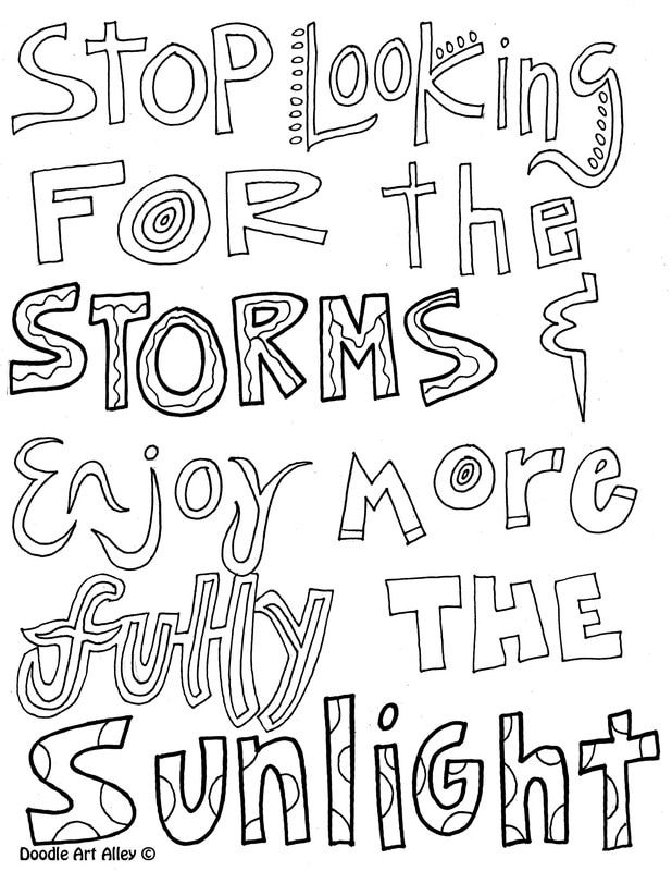 - Attitude Quote Coloring Pages - Doodle Art Alley Quote Coloring Pages,  Inspirational Quotes Coloring, Coloring Pages