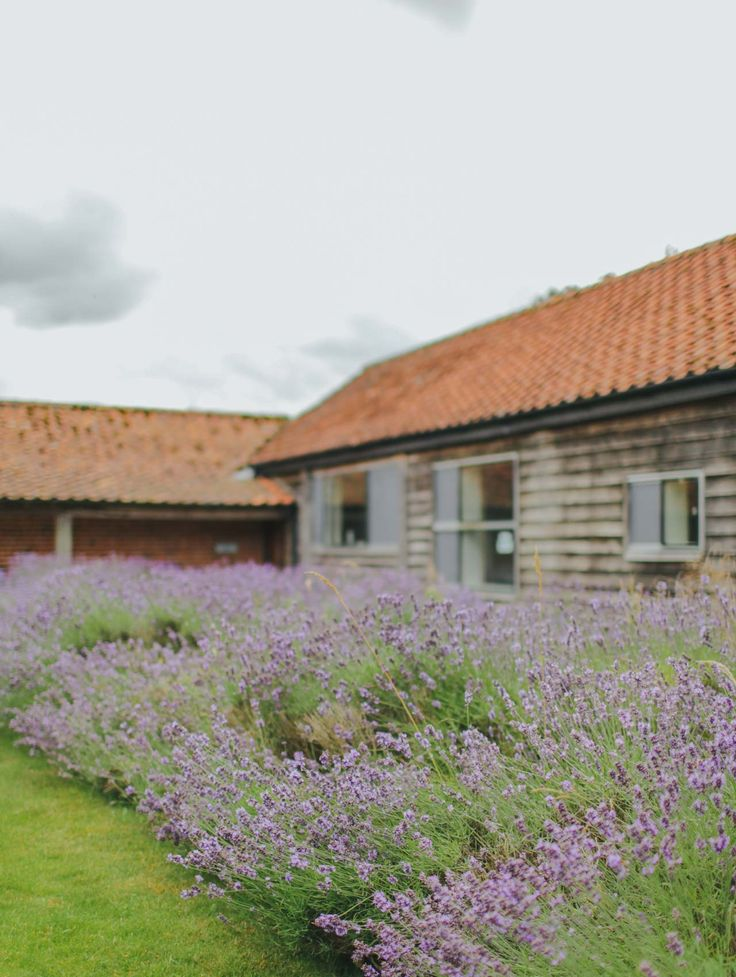 Outside of Quaker Barn in Norfolk - a modern barn conversion available to hire