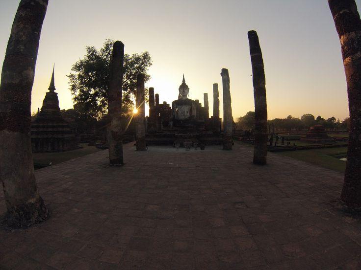 Ayutthaya. Thaïland. GoPro.