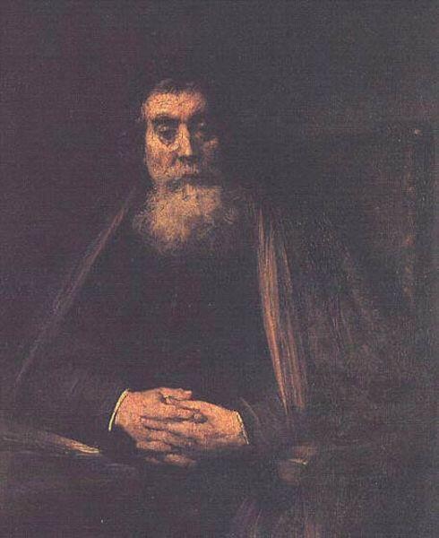 Rembrandt - Portrait d'un vieillard