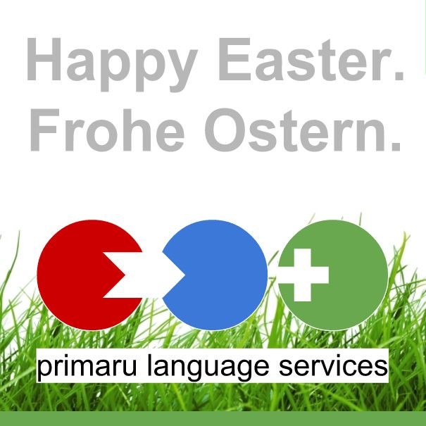 Some days to spend with families and friends. Happy Easter or as we say in Berlin: Frohe Ostern!