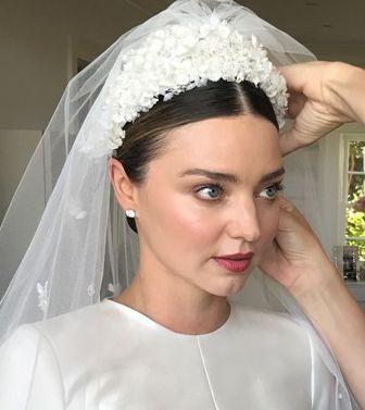 Miranda Kerr Wedding Makeup Wedding Hair Head Piece Miranda Kerr Headpiece Wedding
