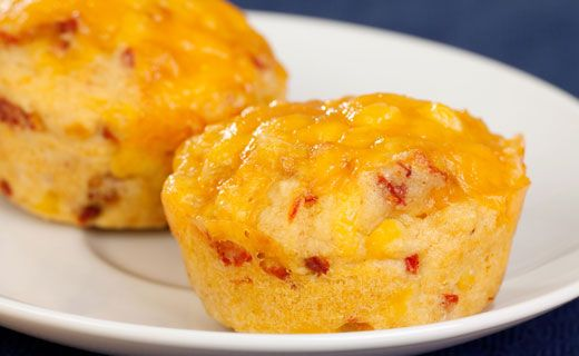Epicure's Southern Cornmeal Muffins