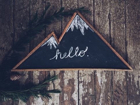 Mountain Chalkboard  sold by Going Stag. Shop more products from Going Stag on Storenvy, the home of independent small businesses all over the world.