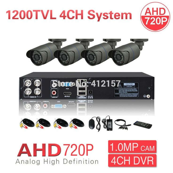 132.99$  Watch here - http://alihac.shopchina.info/go.php?t=32257511788 - Security CCTV Outdoor Waterrpoof 1200TVL AHD 720P Camera System 4CH HDMI Hybrid DVR Home Video Surveillance Kit P2P Mobile View  #shopstyle