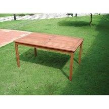 Vifah Balthazar Rectangular Dining Table