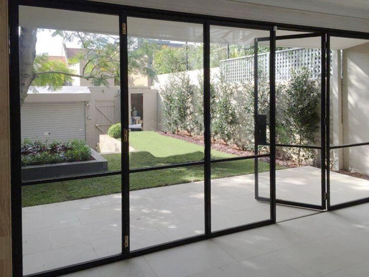 Bi-Fold Steel Doors