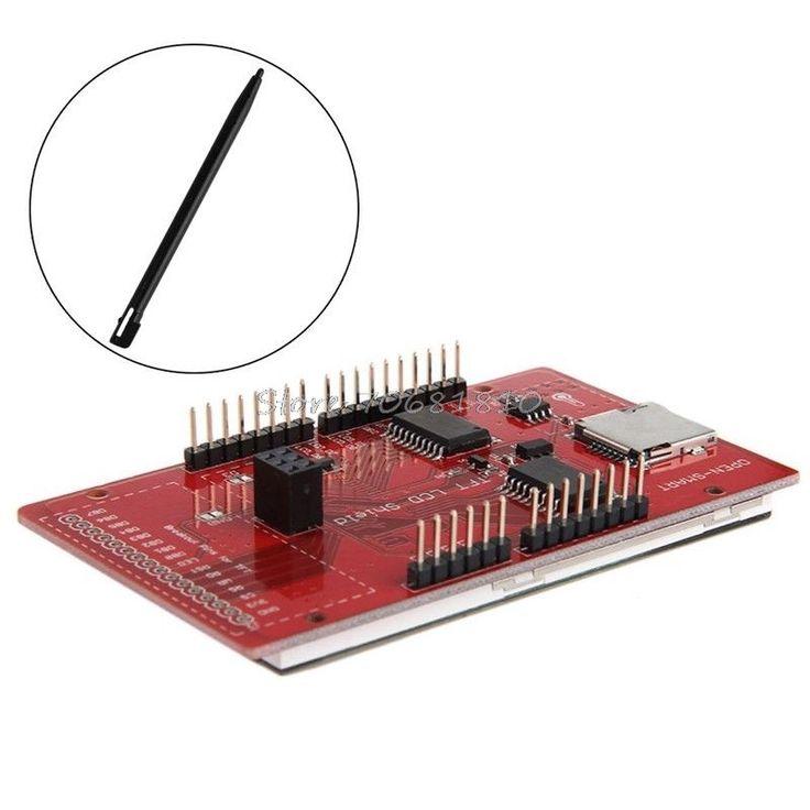 """3.2 """"TFT LCD Сенсорный Экран Расширение Щит Ж/Стилус Для R179 Груза падения"""