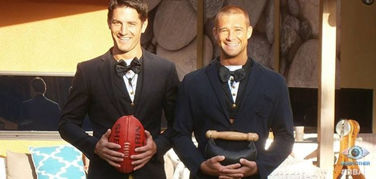 Tim has found the couple to marry: Ed and Matt! He wants to seal the deal on their bromance! Ed walks down the aisle with his signature AFL footy and Matt with his weight from the gym! Boys, bonds and bromances!