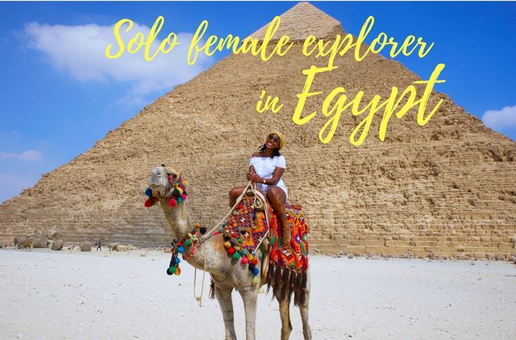 Solo female travel to Egypt. Check out my amazing experience in Giza and Cairo while travelling SOLO. #Egypt #cairo #giza #femalesolotravel #femaletraveling #solo #travel #adventure