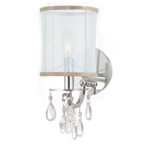 Quinn Wall Sconce Chrome From Z Gallerie Wall Sconce
