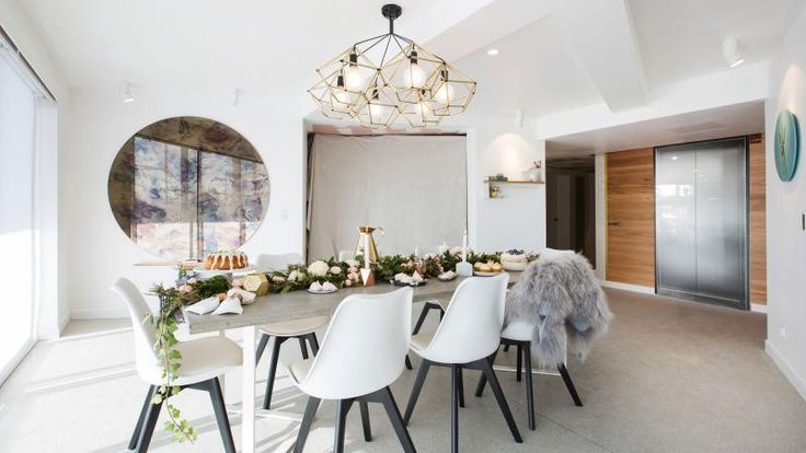 Shannon Vos's Fast Five: #theblock #roomreveals. This was Dean and Shay's dining room.