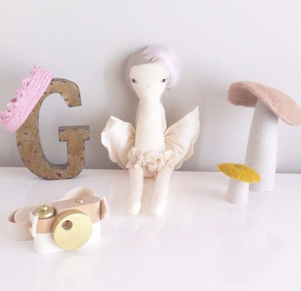 Adorable decor for an adorable little G.  Our Mushrooms in a setting to delight.  www.delamadele.com.au