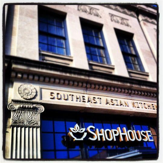 <3 Quick Dinner: ShopHouse, Dupont Circle