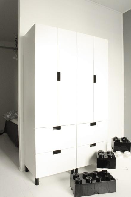 Stuva wardrobes, Ikea