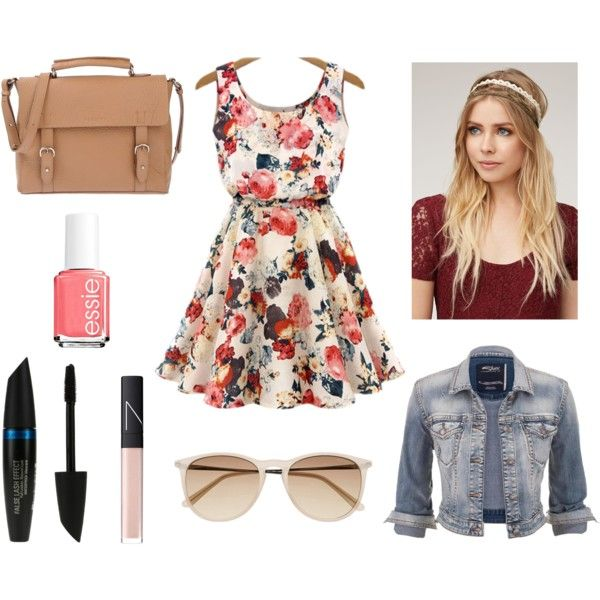 baby doll by hopegloverglow on Polyvore featuring moda, Silver Jeans Co., Orciani, Witchery, With Love From CA, NARS Cosmetics, Max Factor and Essie
