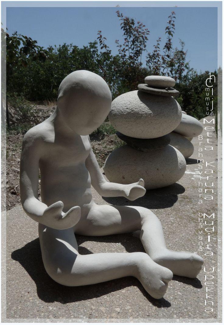 Metta Karuna Mudita Upekkha Brahmavihara bhåvanå E.Chij www.mumusu.es #陶瓷 #雕塑 #原版的 #艺术 #手工制造 #粘土 #セラミックス #彫刻 #元の #アート #手作り #粘土 #ceramica #escultura #original #arte #arcilla #original #sculpture #ceramic #handmade #clay #art #Brahmavihara #bhåvanå