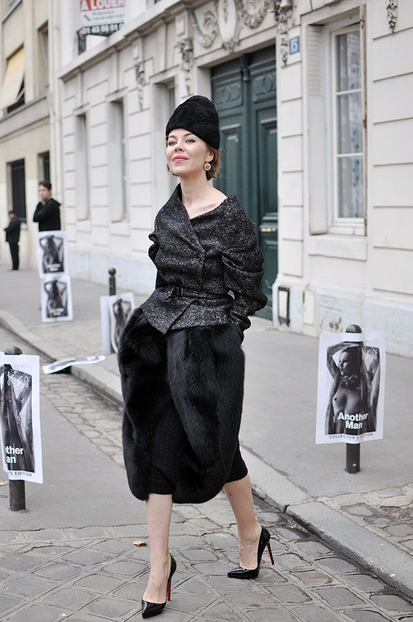 that is one exquisite outfit #UlyanaSergeenko. Paris.