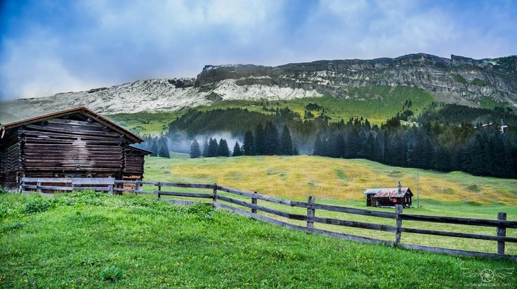 The Fog Is Coming - A Swiss landscape from July 2016