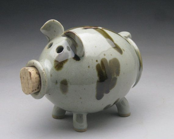 1000 images about piggy banks on pinterest ceramics Decorative piggy banks for adults