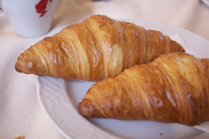 Best croissant you will ever have in life - Vienna, Austria - Café Schottenring