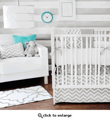 Zig Zag Slate Chevron Crib Set: Baby 2014, Baby Bedding, Baby Davalos, Baby 3, Baby Baby, Baby Room, Babe, Baby Cakes