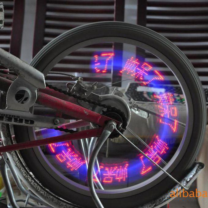 Hot Wheels przejażdżkę rowerem dekoracyjne światła magiczna noc może wyświetlać znaki semickim koła semickim ● Bezpieczny Import z Chin ● 36.pl