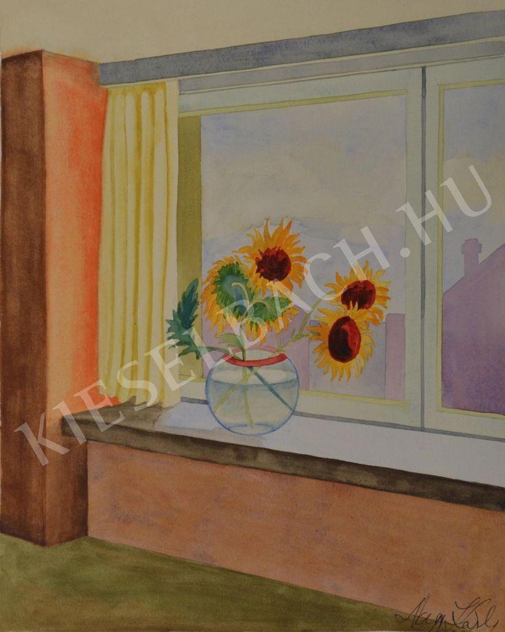 Sunflowers - Károly Nagy