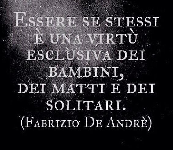 Fabrizio De Andre.