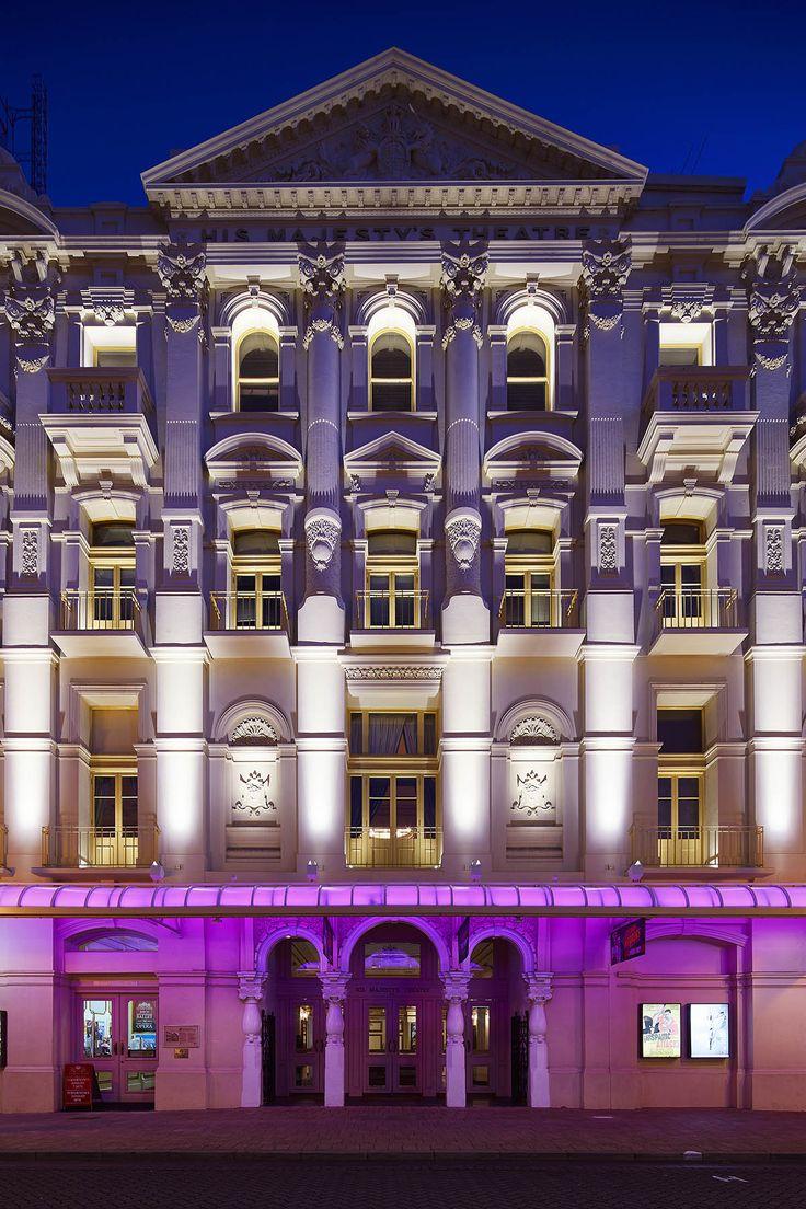 iGuzzini | His Majesty's Theatre Perth, Australia | Culture, Urban | Products used:  iPro, Ledtube, Linealuce