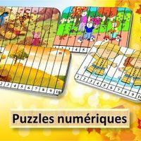 Voici des petits puzzles numériques sur le thème de l'automne , il y en a 7 au total. Cela permet de travailler la suite des nombres de 1 à 10. A imprimer et plastifier. Vous pouvez trouver...