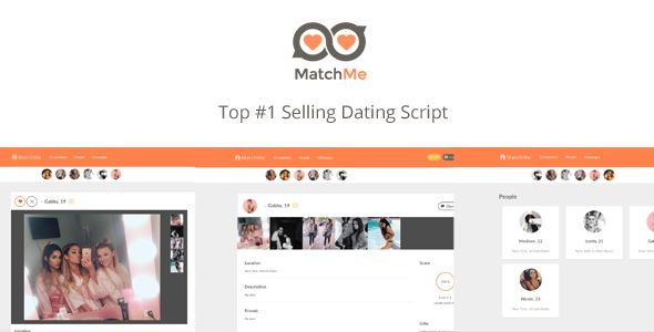 MatchMe - Complete Dating Script - https://codeholder.net/item/php-scripts/matchme-complete-dating-script