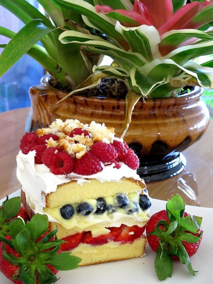 Fruity Mock Trifle