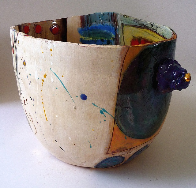 105 best images about linda styles on pinterest for Clay pot painting techniques