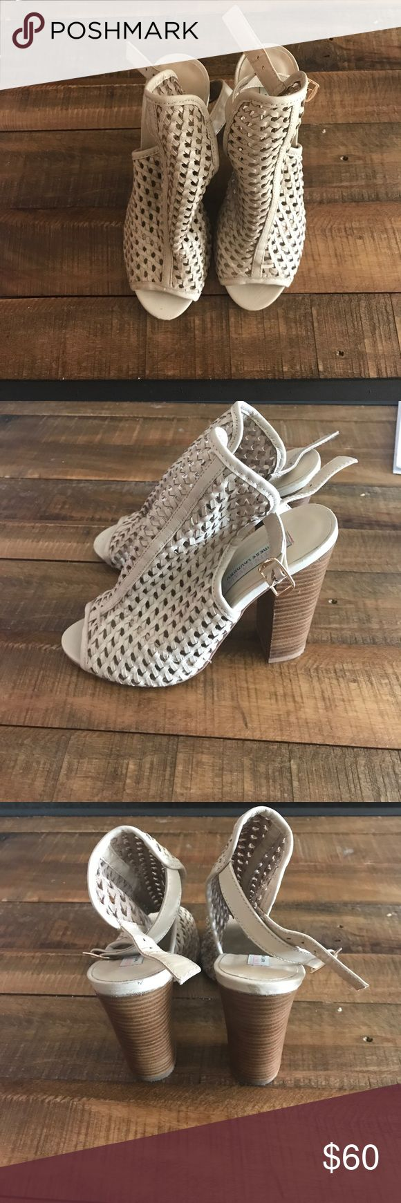 Heel Sandals by Chinese Laundry Kristin Cavallari by Chinese Laundry Block Heels. Gently used. Chinese Laundry Shoes Heels