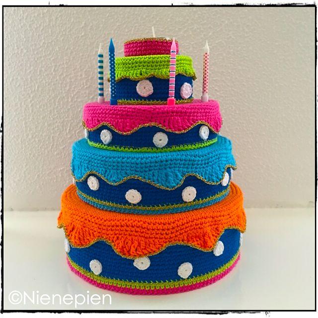 Ravelry: Verjaardagstaart pattern by Nina Tearney