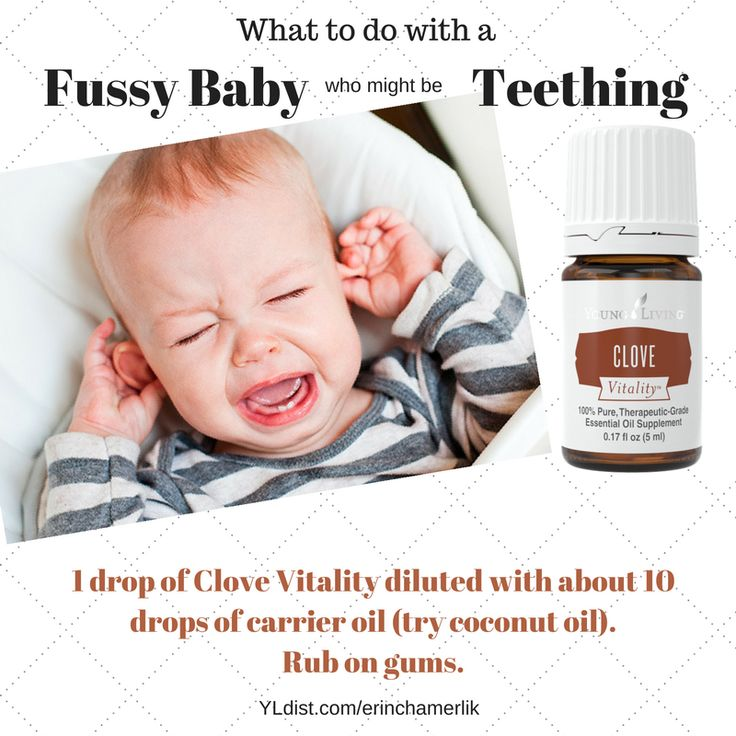Keep clove essential oil on hand for teething baby or other oral trouble. http://getbetterwellness.com/?p=9541