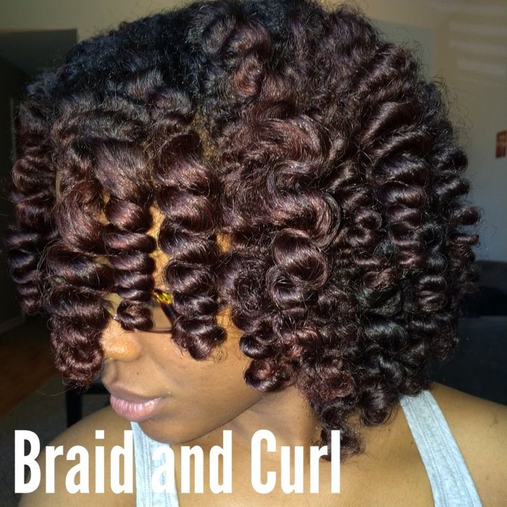 Super Cute Braid and Curl Tutorial Ft. Eden BodyWorks Products