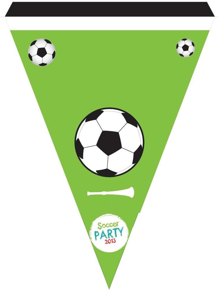 Soccer Party banderín