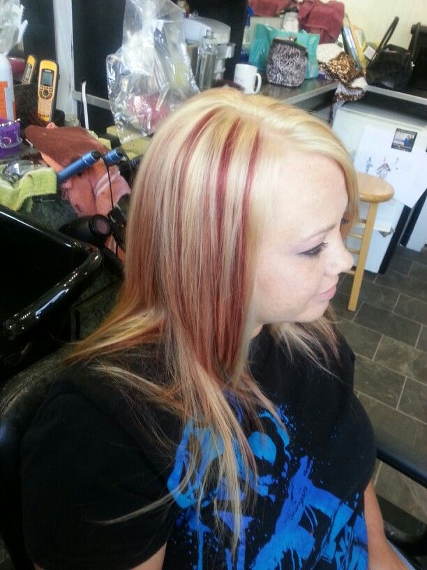 129 Best Images About Hair Blonde And Red On Pinterest