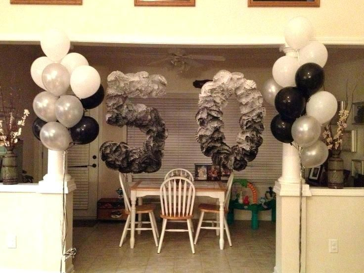 Decoration Ideas For Male 50Th Birthday Party from i.pinimg.com