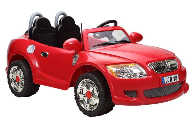 Kids Cars 12 Volt Electric Battery Operated Ride On M3 Sports Cruiser - Red