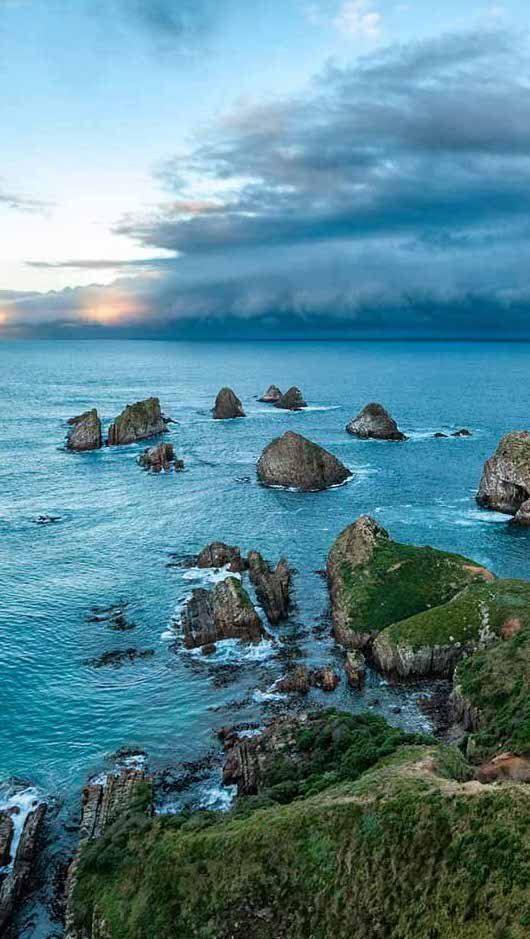 Auckland, New Zealand   Few places offer as much diversity of dramatic terrains as the island nation of New Zealand. From sandy beaches to rugged coastlines, mountains, meadows, forests, and glaciers – New Zealand is a thrilling place for adventure seekers to explore.