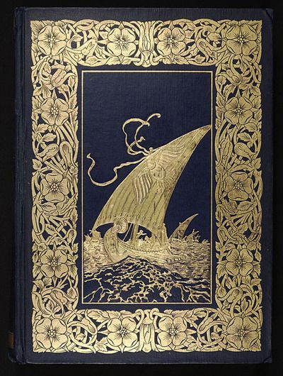 the complete poetical works of geoffrey chaucer, book cover   just a beautiful cover