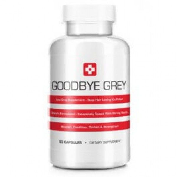 Buy Goodbye Grey hair ANTI-GREY FORMULA | Catalase Supplement to prevent grey hair